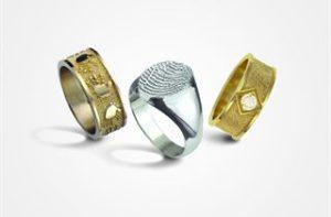 Thumb Print Rings