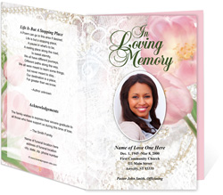 View: Pearls Funeral Program