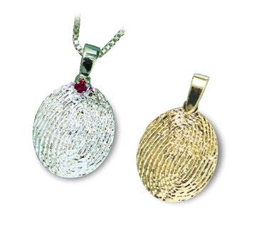 Fingerprint Jewelry Charms FAQs
