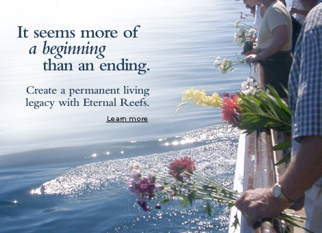 Eternal Reefs Cremation Memorials