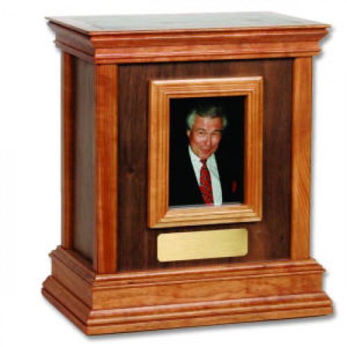 Framed Contemporary II Urn