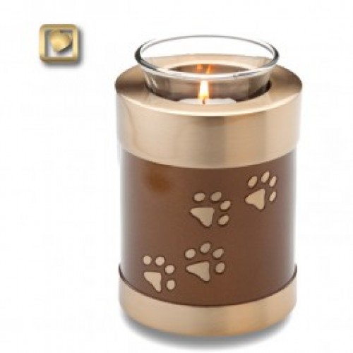 TeaLight Pet Cremation Urn for Ashes