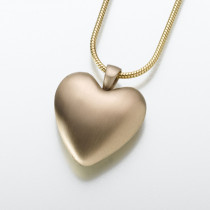 Bronze or Pewter Heart (2 Metal Options)