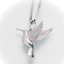 Hummingbird Pendant (2 Metal Options)