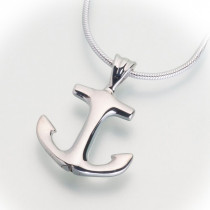 Anchor Pendant (Two Metal Options)