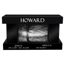 Howard Memorial Bench (3 Sizes and 8 Colors)