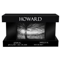 Howard Memorial Bench (8 Colors)
