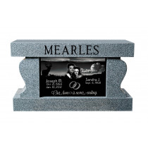 Mearles Memorial Cremation Bench (3 Sizes and 8 Colors)