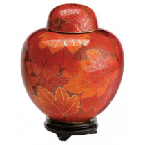 Fall Leaf Cloisonne (6 Options)