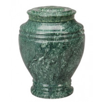 Green Earth Marble Keepsake Urn