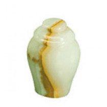 Light Green Onyx Keepsake Urn