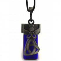 Trinity Angel Bottle Pendant