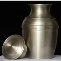 Handmade Pewter Urn
