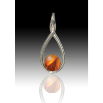Melody Twist - Amber - Sterling Silver