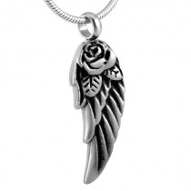 Angel Wing with Rose