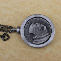 Bulldog Pet Memory Medallion