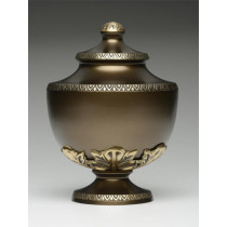 Chestnut Brown Chalice Urn