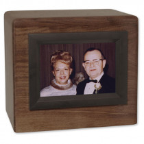 Companion Photo Display Cremation Urn for Ashes
