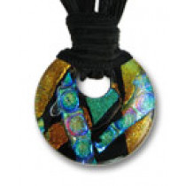 Circle of Eternity Dichroic Glass #06