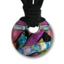 Circle of Eternity Dichroic Glass #08
