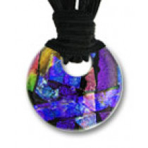 Circle of Eternity Dichroic Glass #02