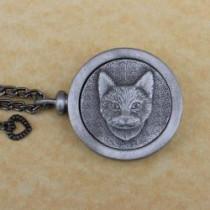 Forever Feline Pet Memory Medallion