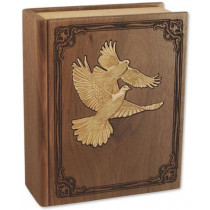 Companion Cremation Urn for Ashes with Doves
