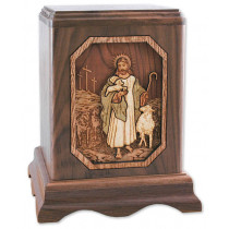 The Lord is My Shepherd Cremation Urn for Ashes