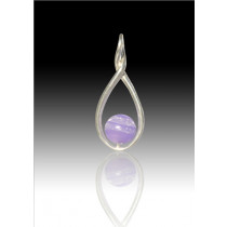 Melody Twist - Lavender - Sterling Silver