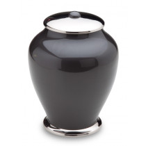Tall Simplicity Midnight Cremation Urn for Ashes