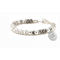 Sterling Silver Mother's Bracelet