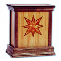 Star Contemporary Urn