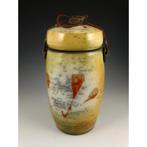 The Quiet Aspens Four Raku Urn