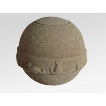 Ocean Sand Round Urn for Pets