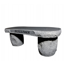 Sullivan Stone Bench (2 Sizes and 8 Colors)