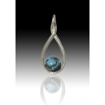 Melody Twist - Turquoise - Sterling Silver