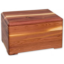 Hamilton Cedar Cremation Urn for Ashes