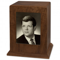 Photo Display Cremation Urn - Vertical for Ashes