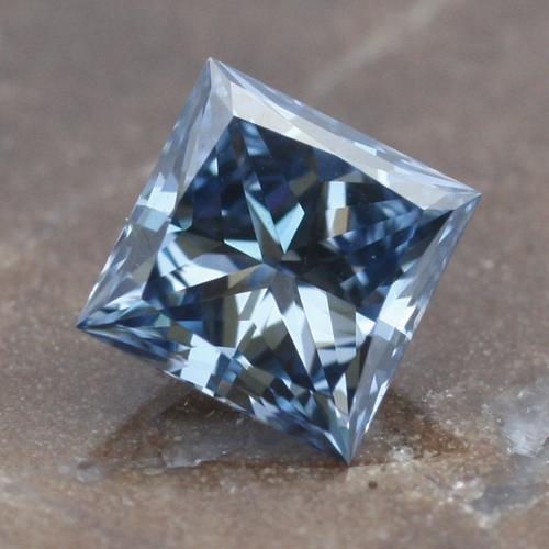 Princess Cut Cremation Diamond