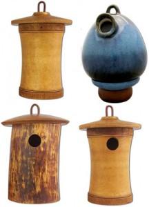 Birdhouse Urns