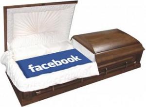 Facebook Casket