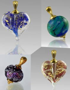 Glass Beads and Jewelry For Ashes