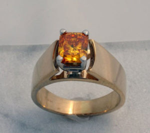 Yellow Cremation Diamond