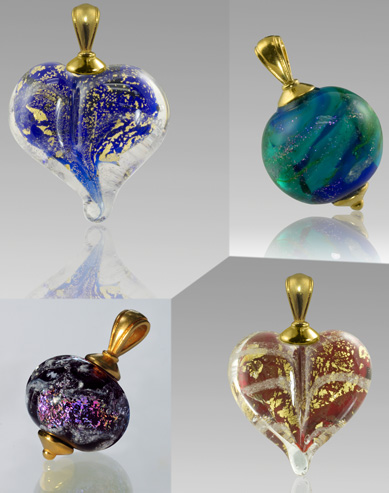 ashes to glass jewelry glass artist use cremation ashes to create today 5423
