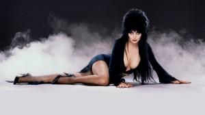 Elvira at a funeral