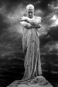 Scary Man Monument