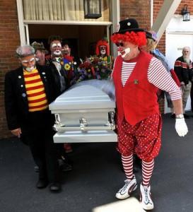 Clown Funneral Planning