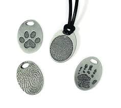 Handprint on Jewelry