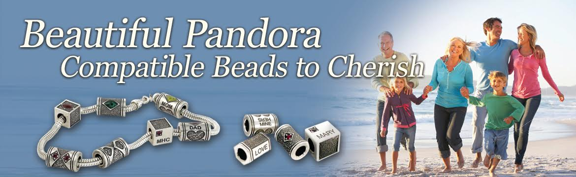 Pandora Style Fingerprint Jewelry