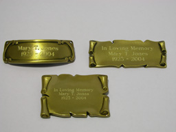 View: Nameplates and Engraving
